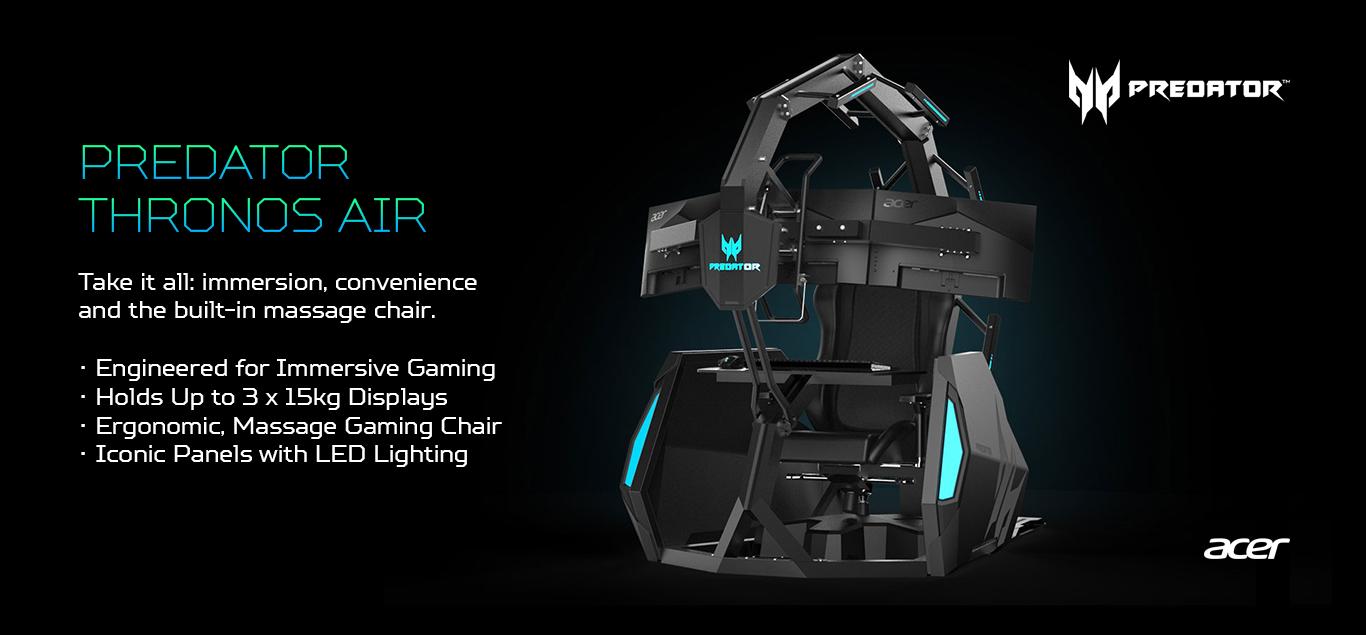 Terrific Next Acer Ifa 2019 Predator Triton 300 Predator Thronos Bralicious Painted Fabric Chair Ideas Braliciousco