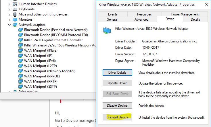 wifi driver acer