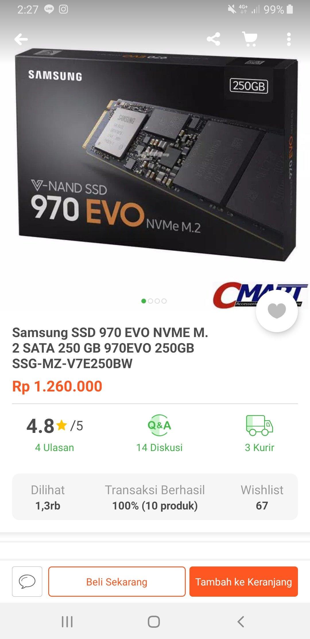 Insert SSD in Nitro 5 - Samsung Evo 970 NVMe m 2 2280 — Acer