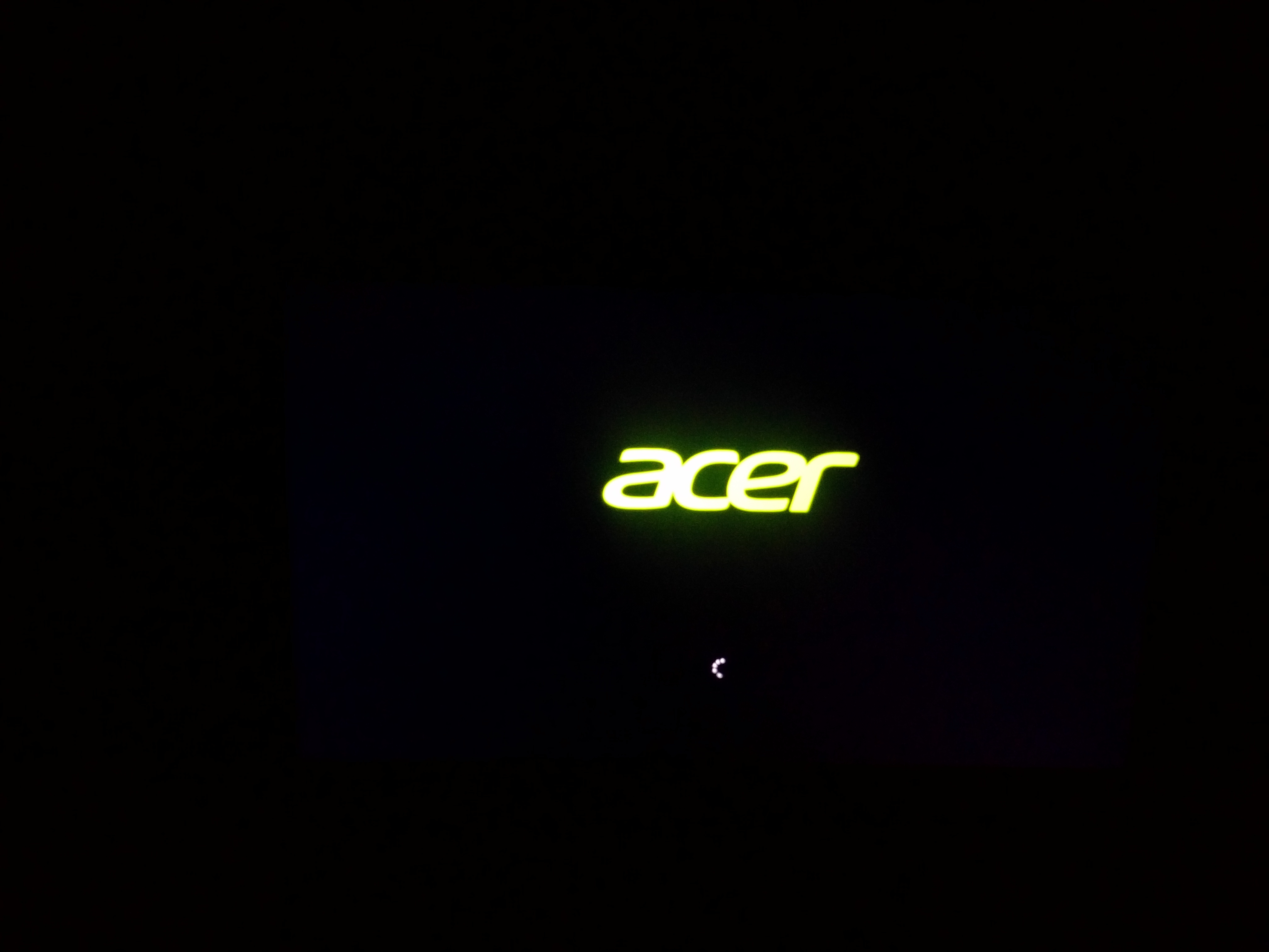 My Acer nitro 5 AN515-52 stuck on bootloop even after using