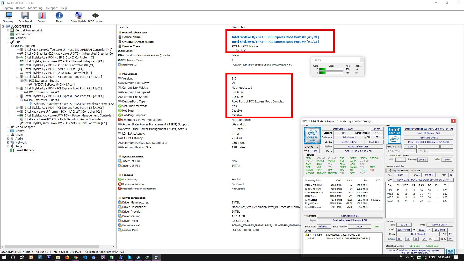 NVMe boot SSD in E5-575G-55KK IT IS POSSIBLE!! — Acer Community