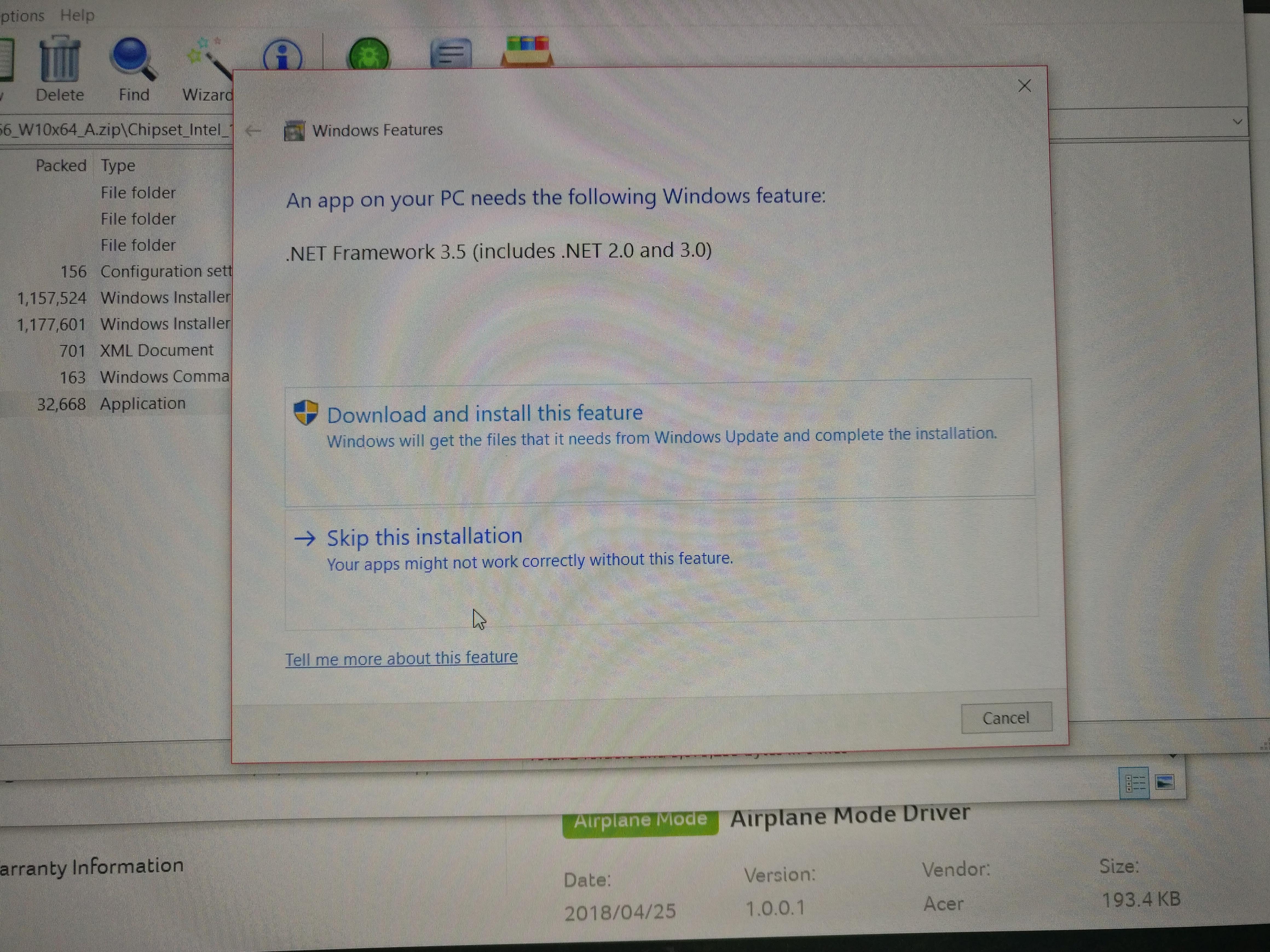 How can I get .NET framework 20.20 — Acer Community