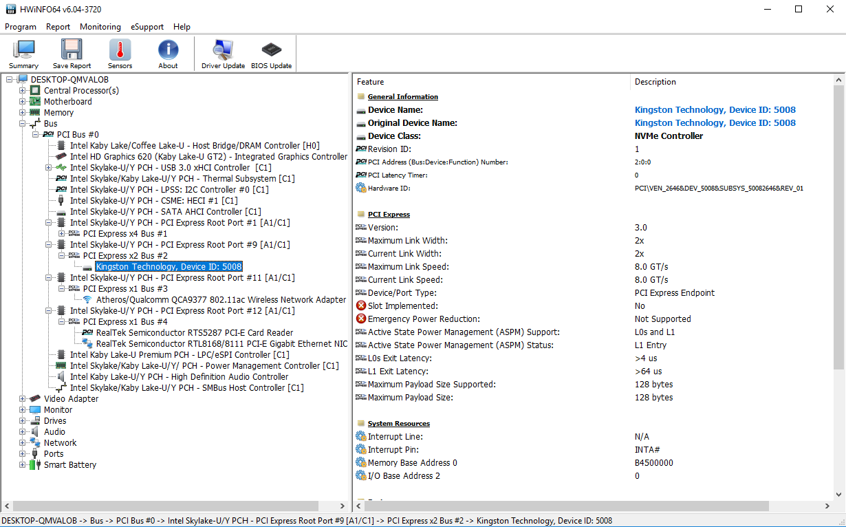 Changing the System Disk after adding m 2 - Aspire E5-575G