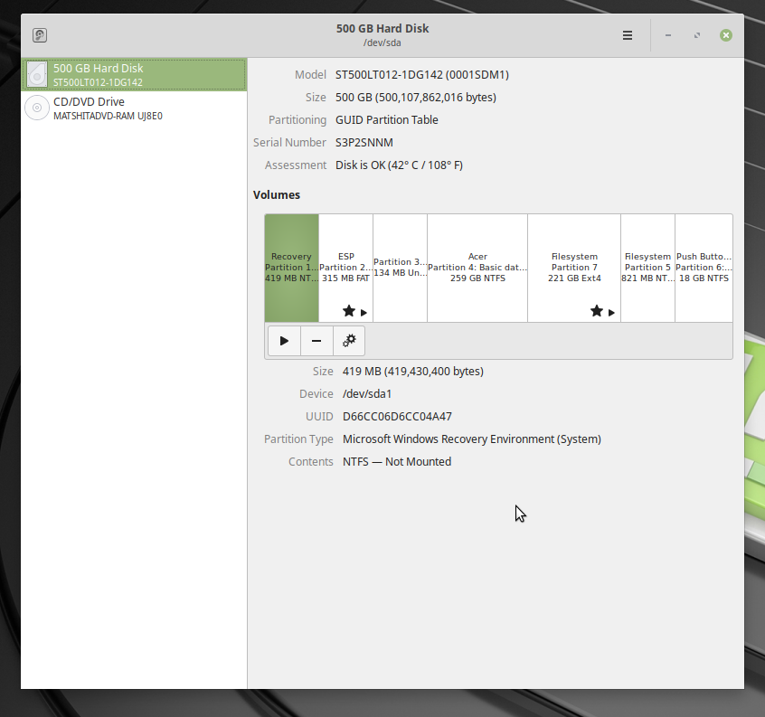 Linux Mint 19 1 Dual Boot Install Faulty (Aspire E1-731-4651) — Acer