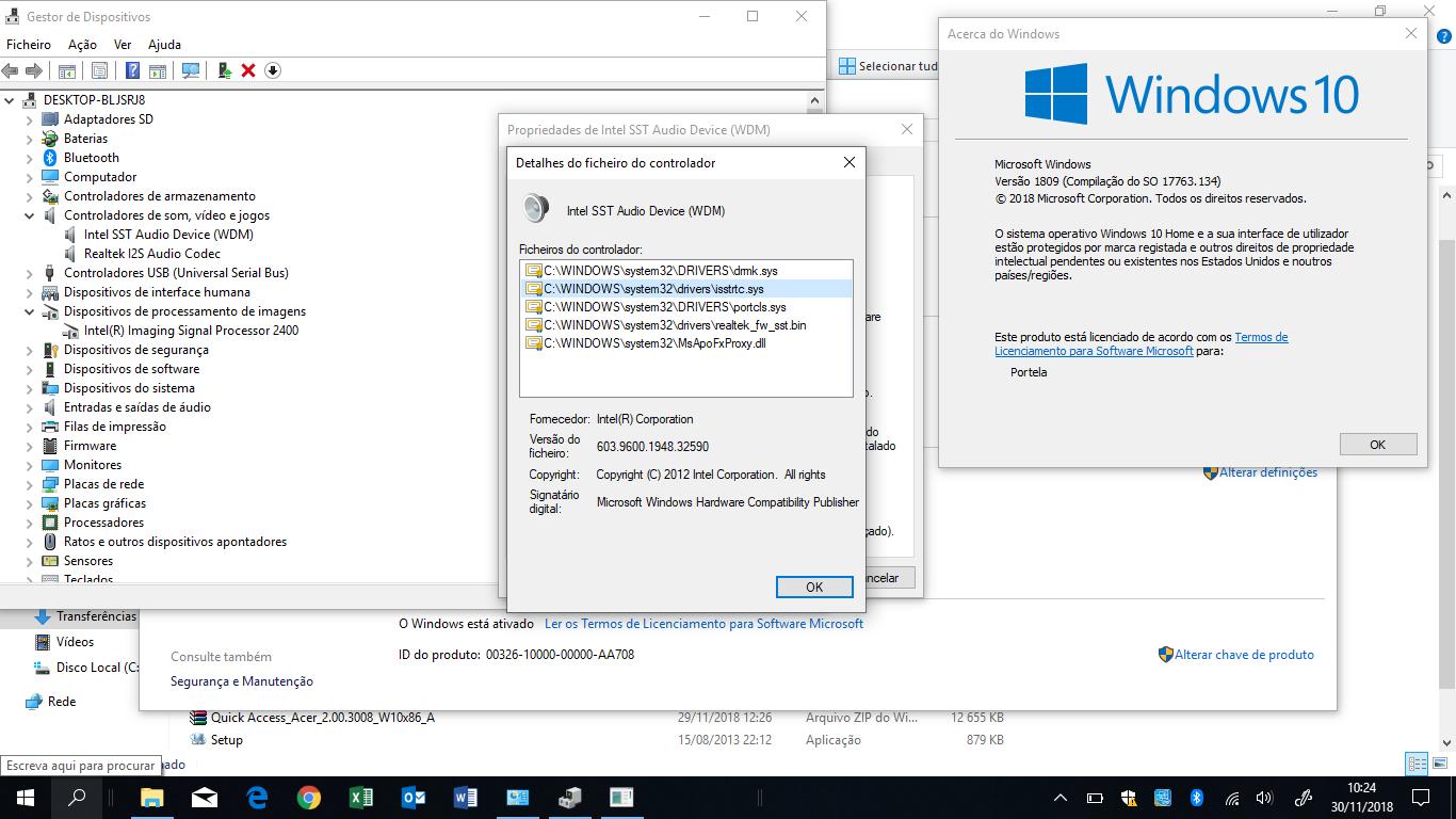 No Sound on Aspire Switch SW3-013 — Acer Community