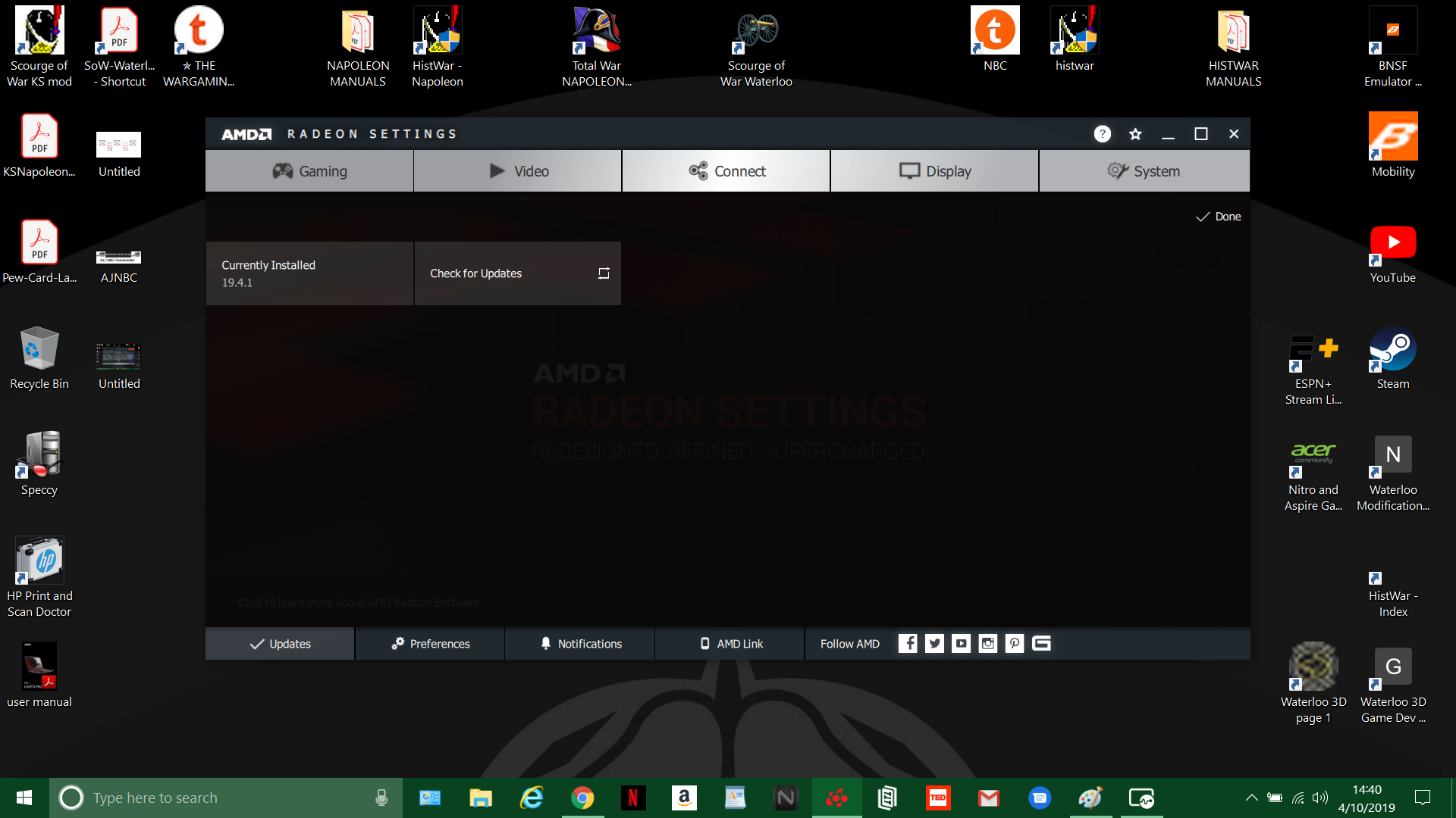 New Acer Nitro 5 AN515-42 Freezes and lags — Acer Community