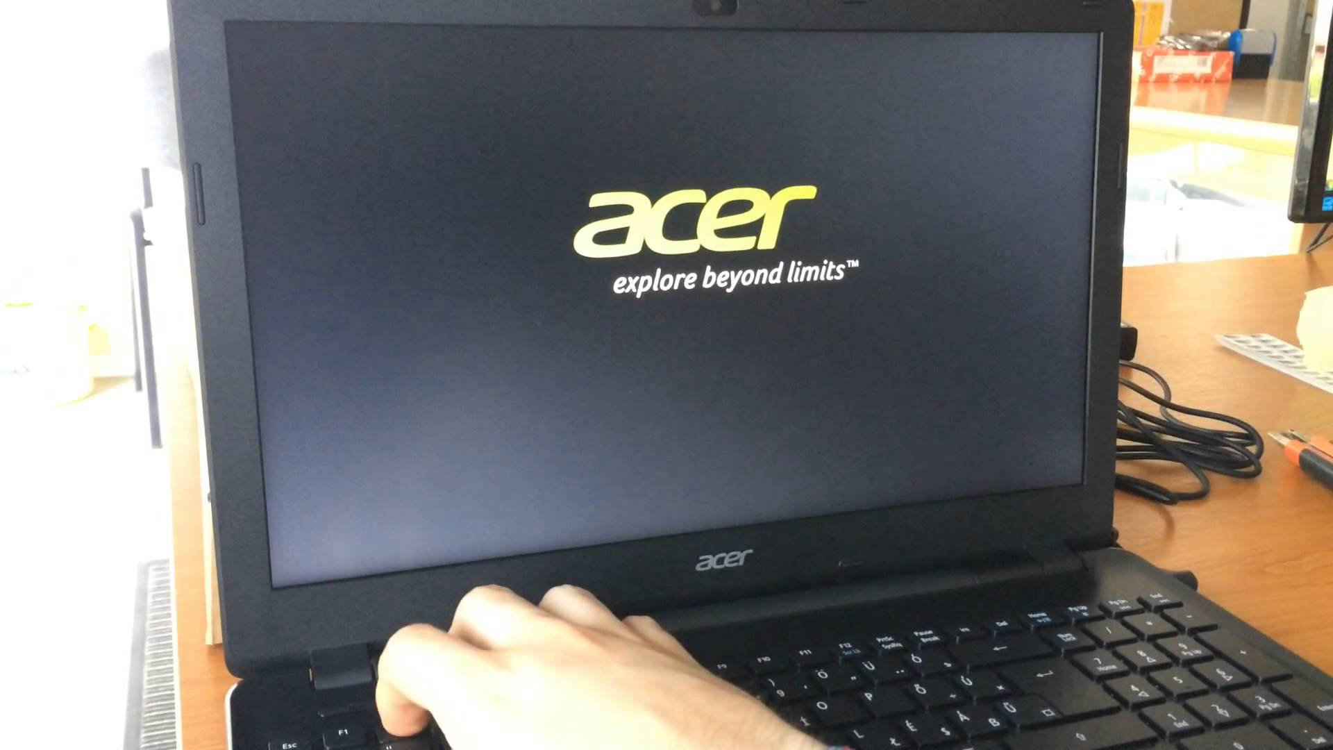 Acer E5-571: I cannot access to F2 boot menu — Acer Community