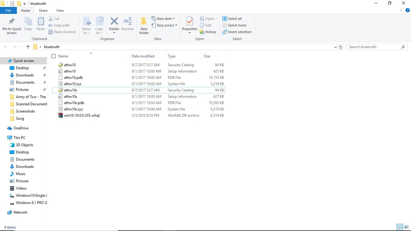 Acer Aspire E5-471PG Atheros Bluetooth Driver Windows 7