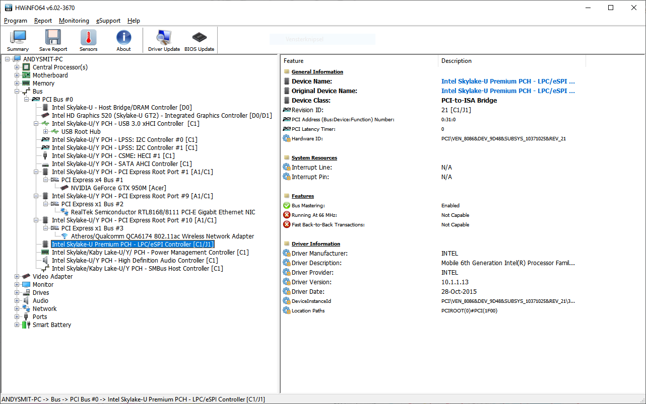 Can't detect m 2 drive on acer vn7-572g-57n0 — Acer Community