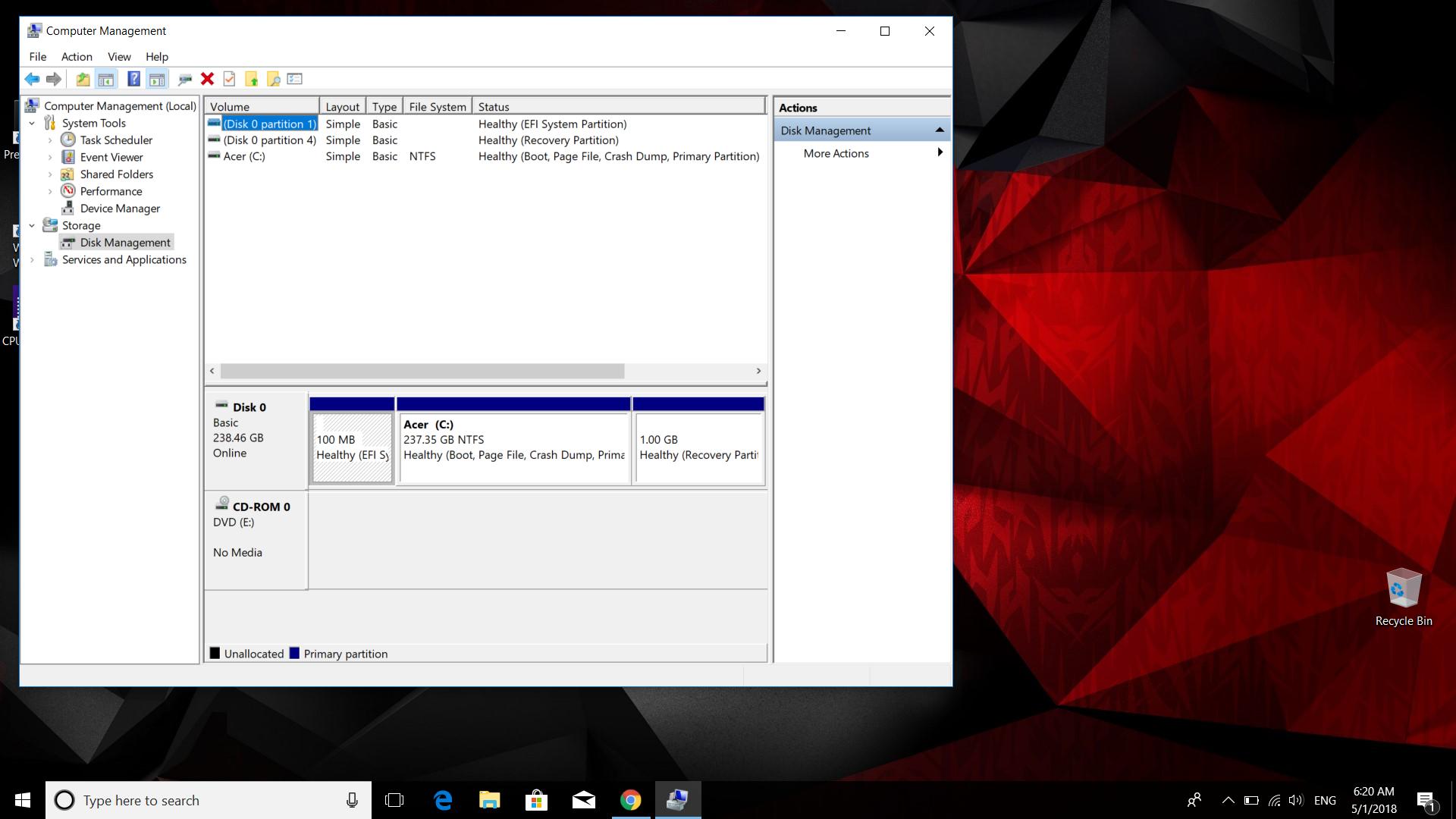 Raid array 0000 problem how to unraid — Acer Community