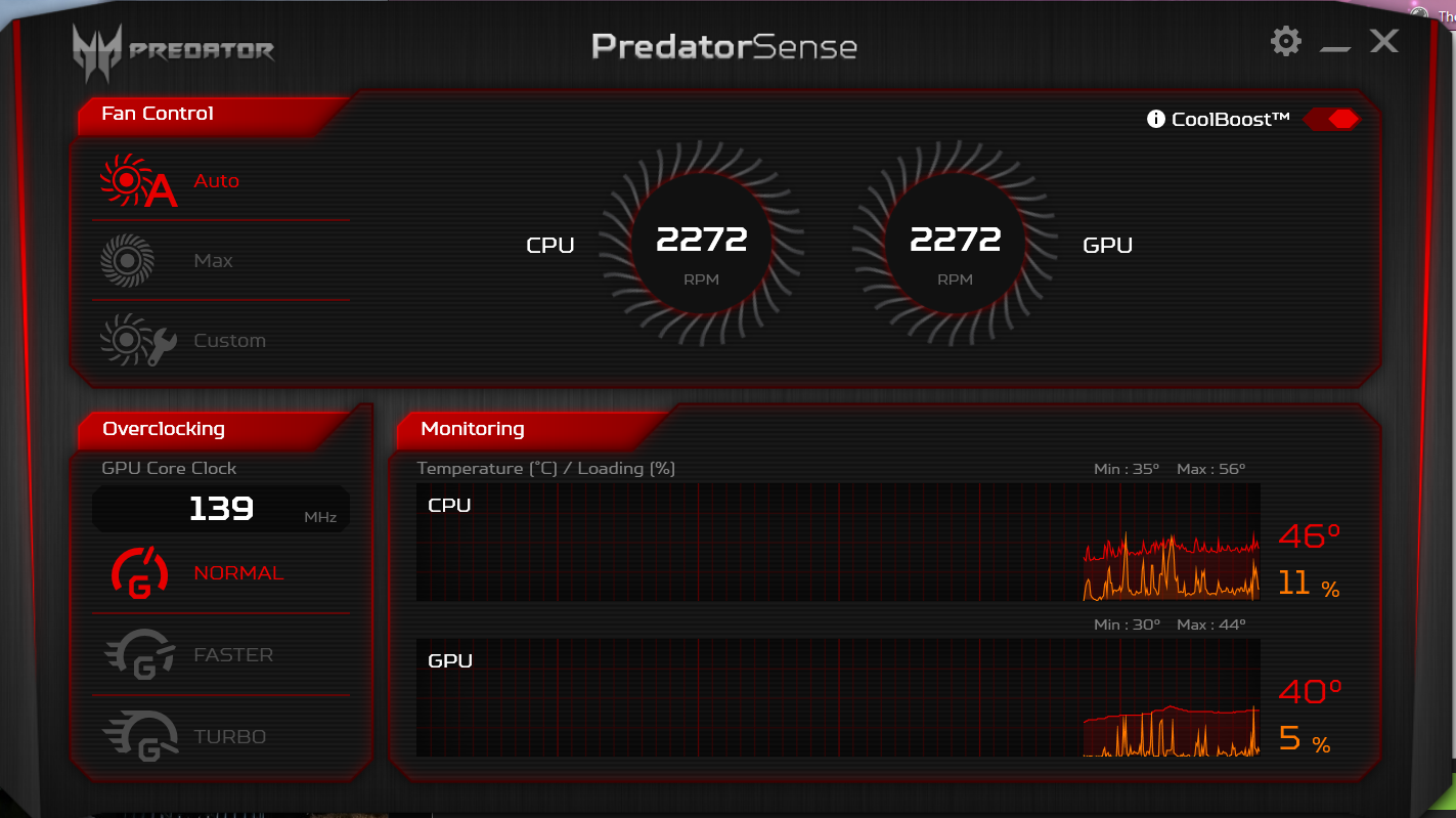 High CPU Temperatures while Idle and Gaming [Acer Predator