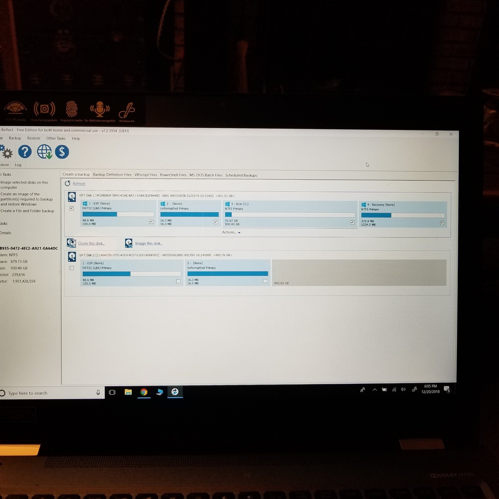 Best path to cloning OEM hard drive to a WD Black Hi-perf