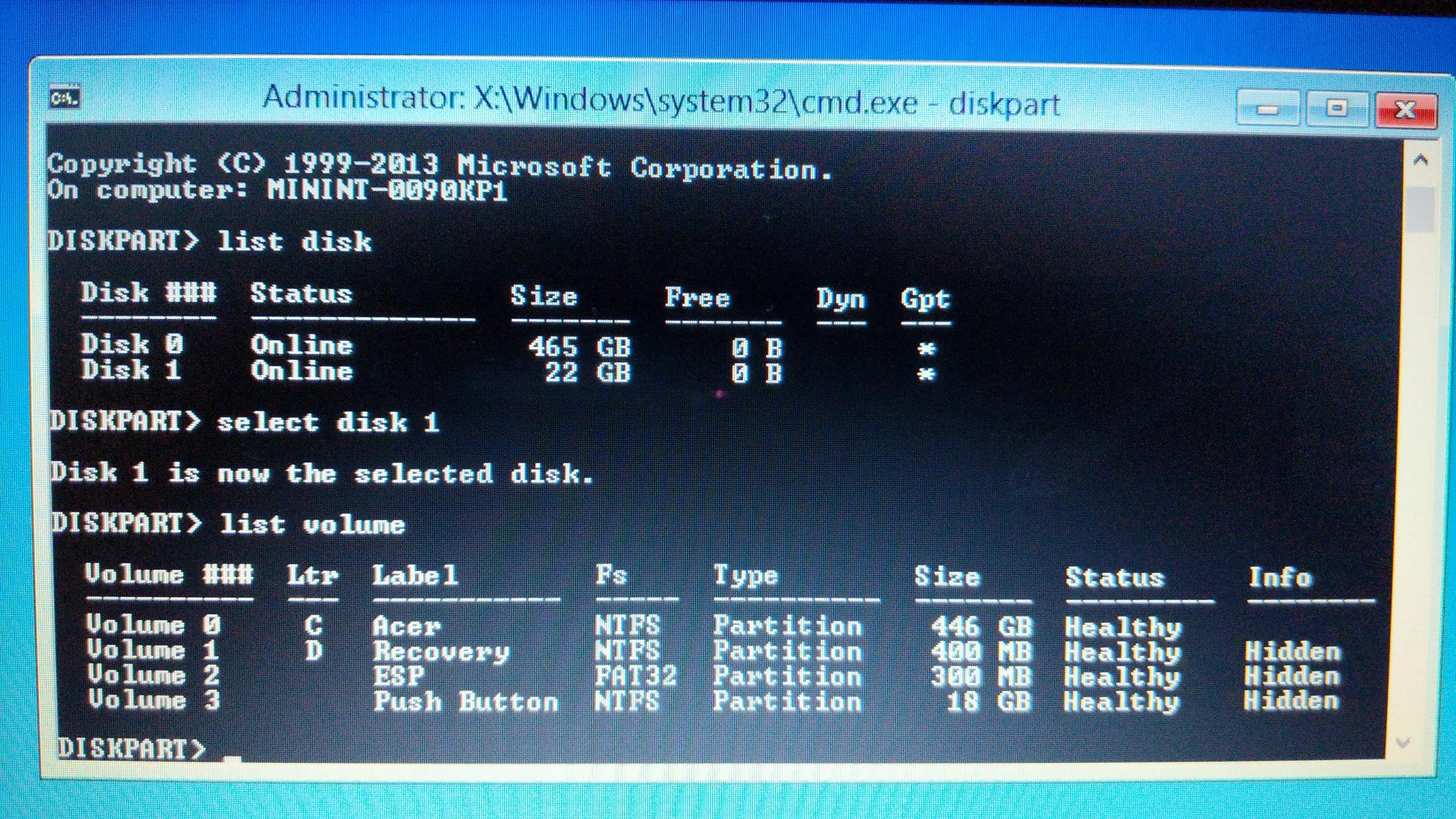 Aspire V7 582p Wont Boot Windows Acer Community