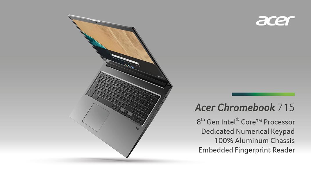 next@acer: Presenting the Chromebook 714, Chromebook 715