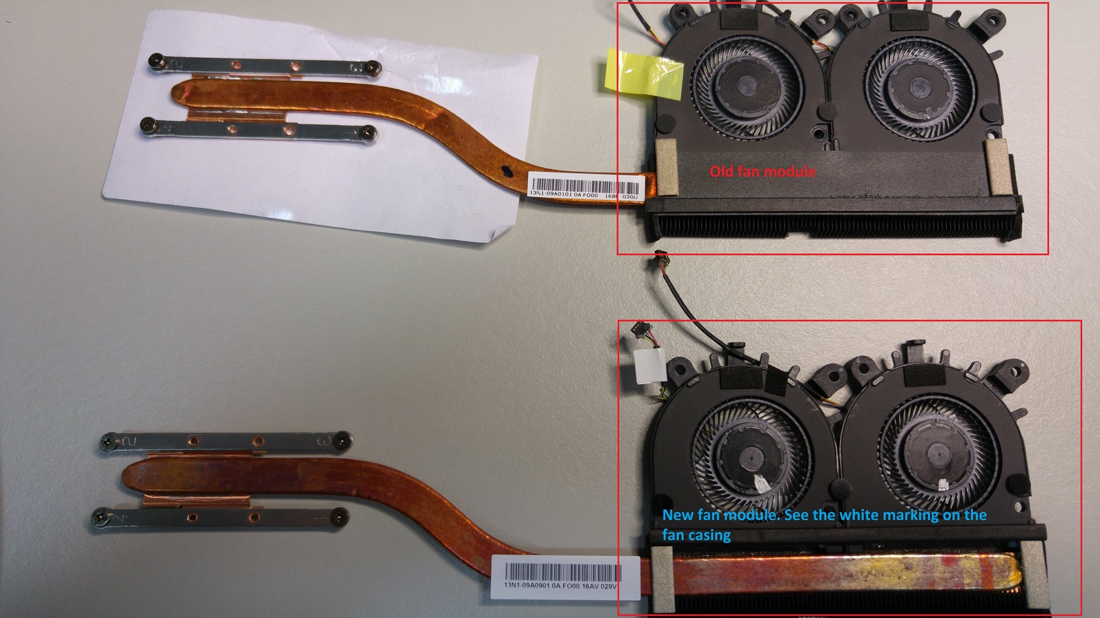 SF314-51 Fan Module