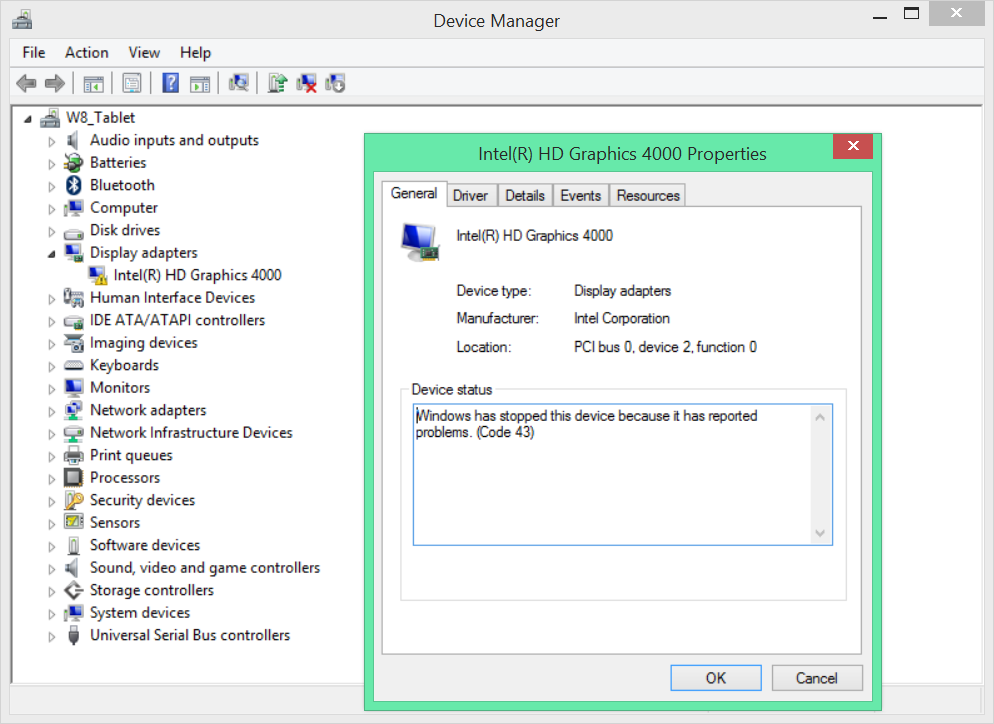 Graphics Problem after Windows 8 1 Upgrade — Acer Community