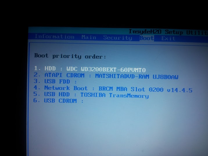acer boot menu key problem