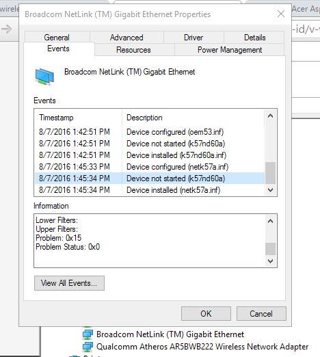 BROADCOM NETLINK FAST ETHERNET DOS WINDOWS 8.1 DRIVER