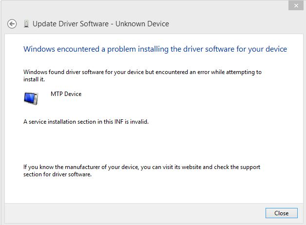 ACER RD2765 MTP DEVICE DRIVERS FOR WINDOWS 8