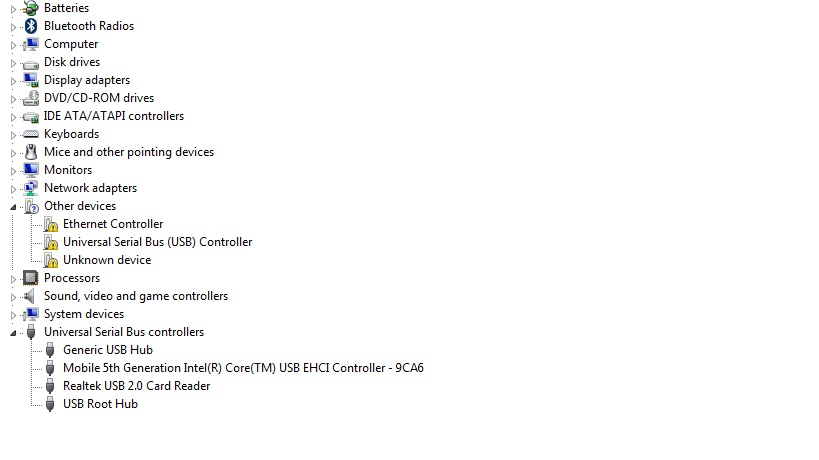 Acer Aspire ES1-571 drivers windows 7 64bit — Acer Community
