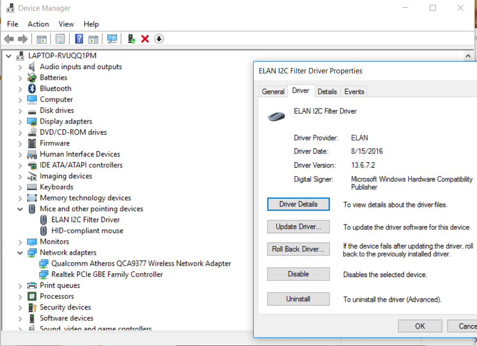 ACER TRAVELMATE 8472T ELANTECH TOUCHPAD DRIVERS