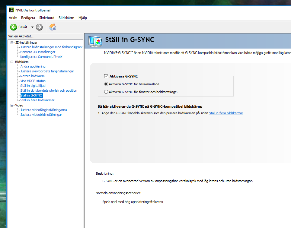 Predator XB271HU G-Sync on? — Acer Community