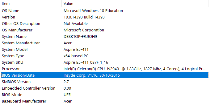 Windows 10 no touchpad driver for e5-411 — Acer Community