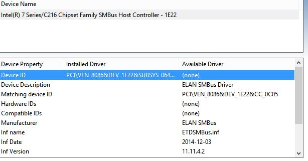 EMACHINES SM BUS CONTROLLER WINDOWS 8 X64 DRIVER DOWNLOAD