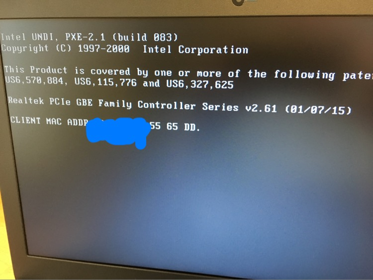 PXE Boot Lockup/stalls — Acer Community