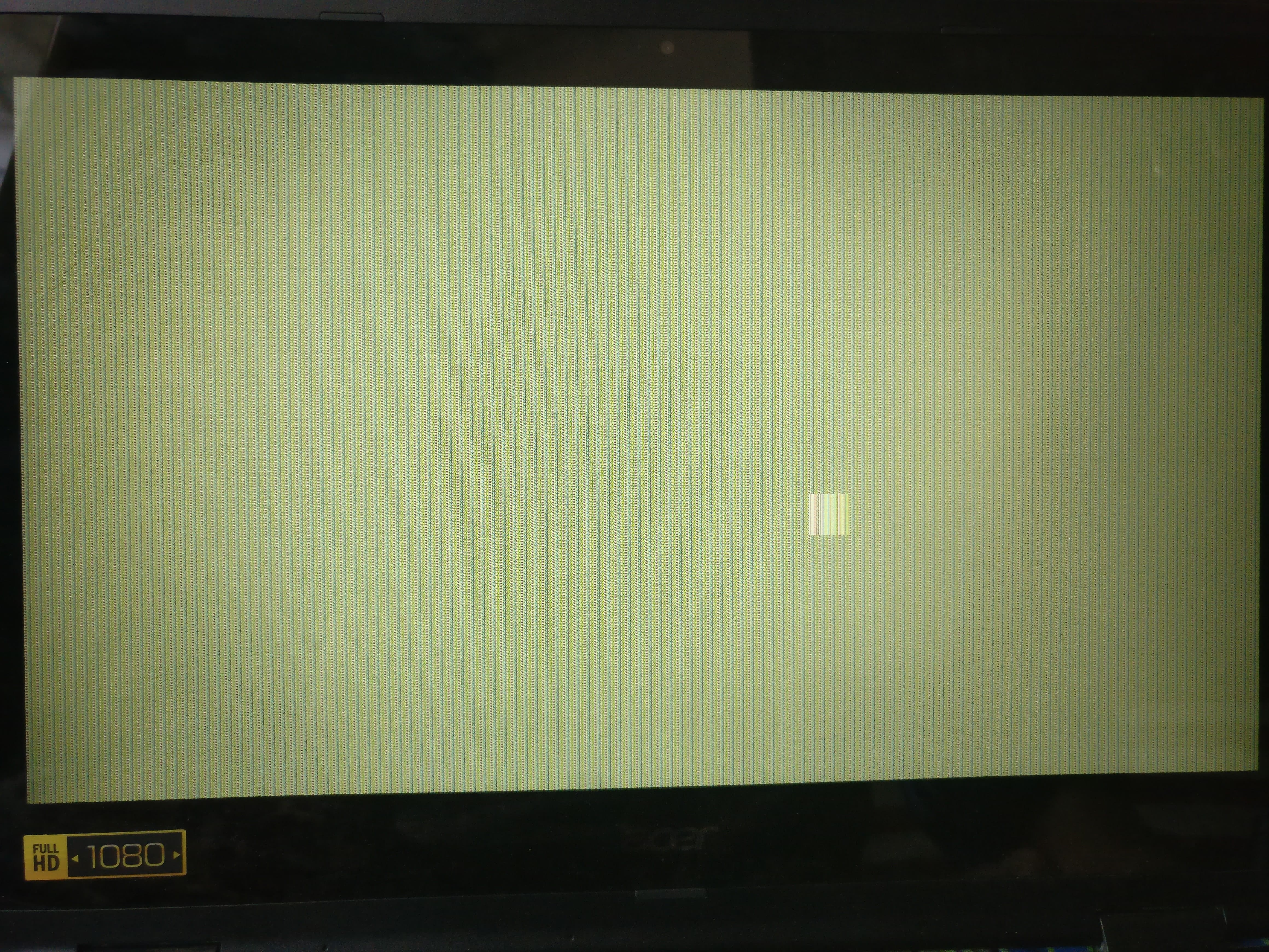 The screen is messed up when I wake my laptop from sleep