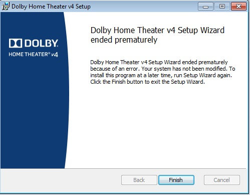 Dolby Driver Windows 8.1
