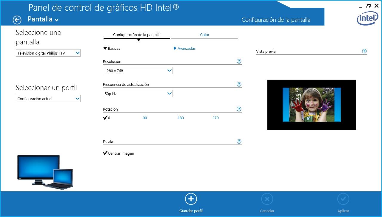how to make hdmi full screen windows 10
