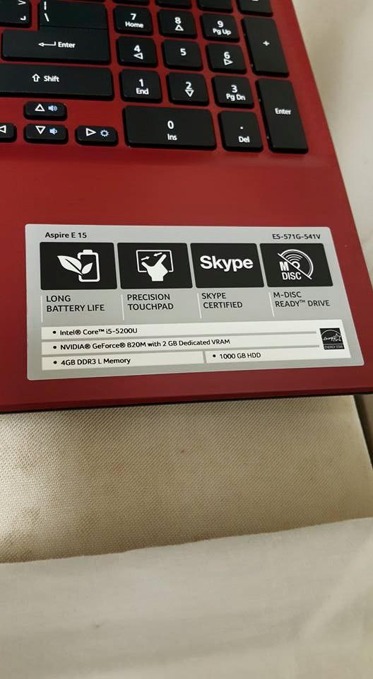 Can I Upgrade My Memory Ram Of My Acer Aspire E15 E5 571g 541v Pls I