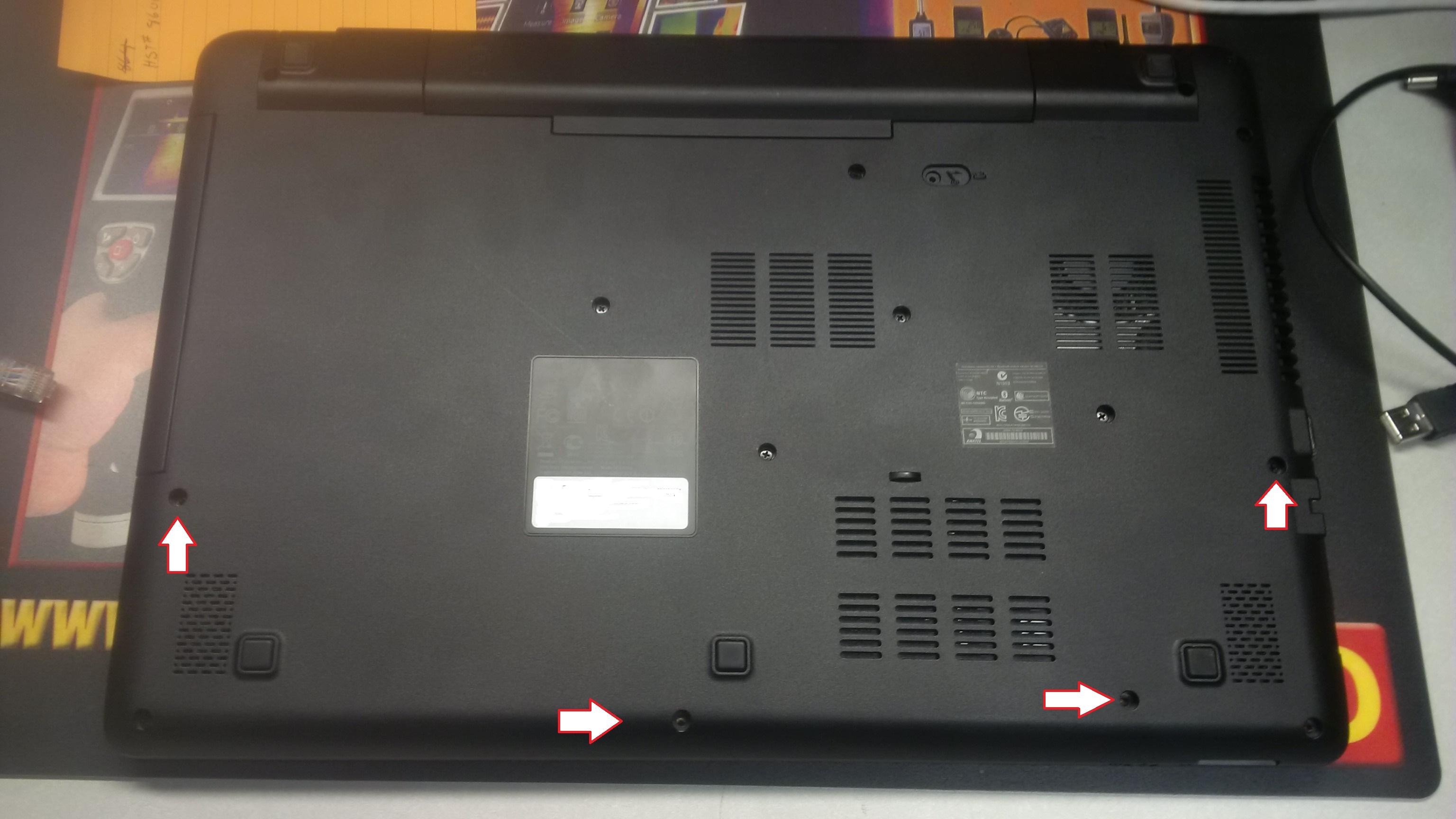 Screws for E5-551 Laptop — Acer Community