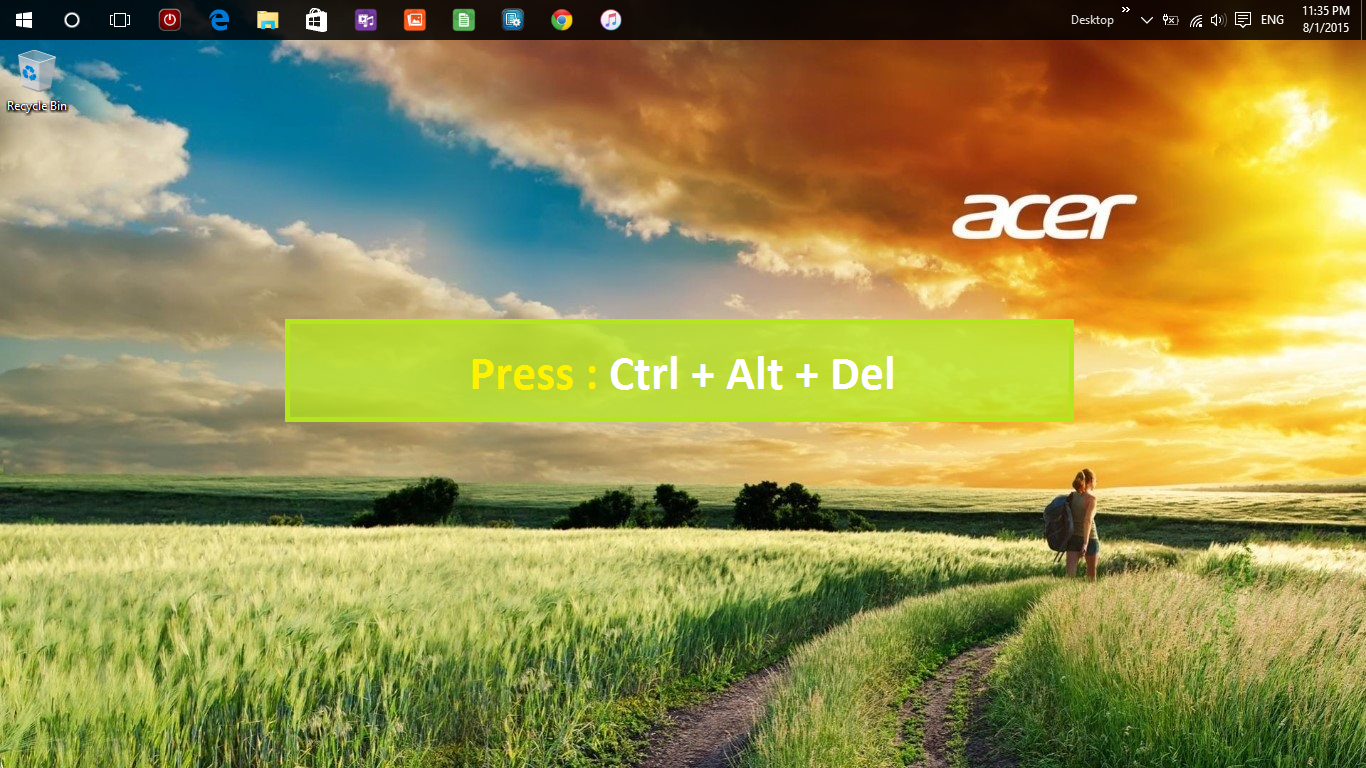 Windows 10 Factory Settings/Recovery Partion Question — Acer Community