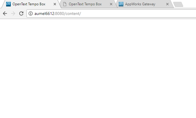 Web Client Not Loading