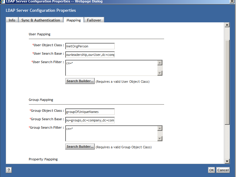 Active Directory Integration over LDAP