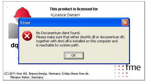 documentum dfc runtime environment 6.5