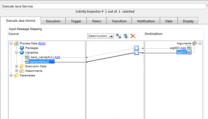 XCP Form Result list mapping with input process variable — OpenText