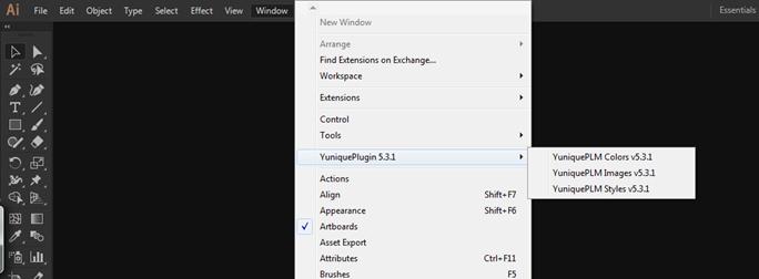 YuniquePLM Design Suite Adobe Plugin installation — Gerber