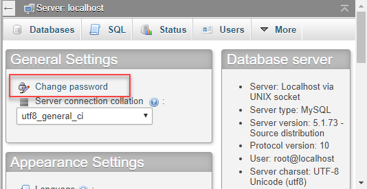MYSQL root password change — Zyxel Home Forum