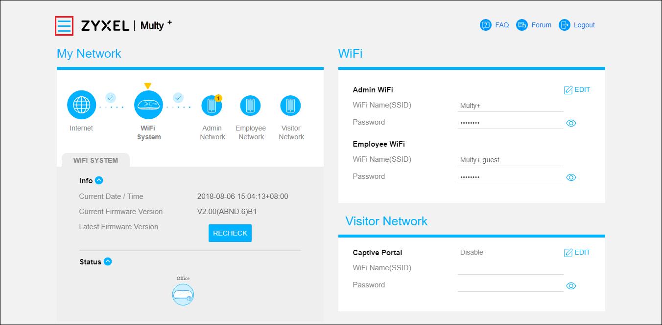 How to set up port forwarding via Web GUI? — Zyxel Home Forum