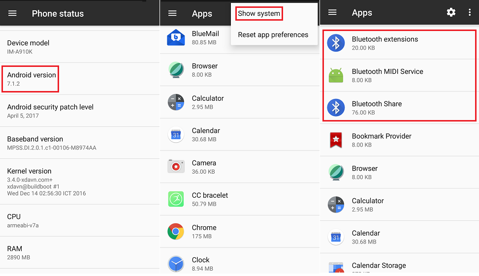 How to clear Bluetooth cache in my Android phone? — Zyxel