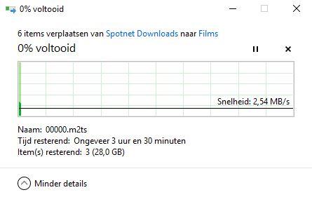 Slow copy speed PC to NAS — Zyxel Home Forum