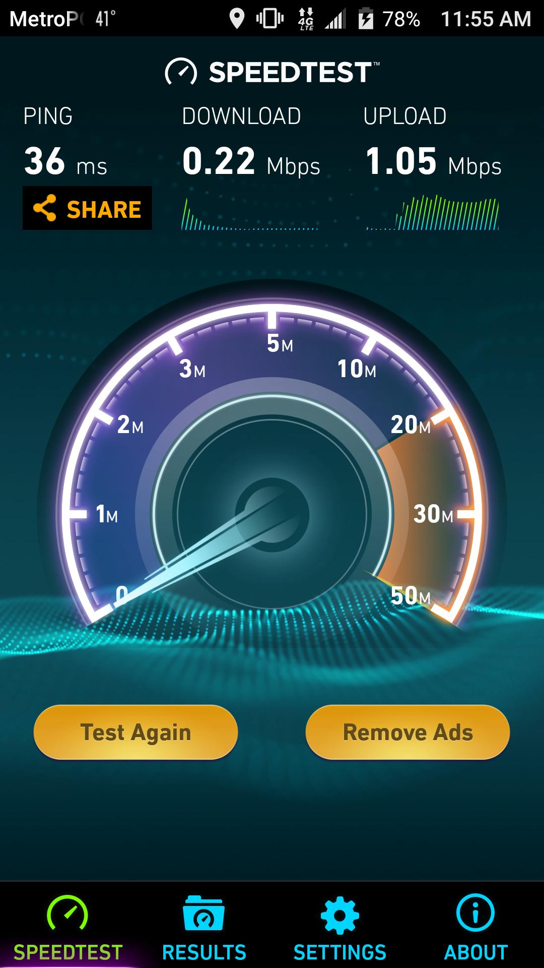 Slow 4G LTE speeds with ZMAX Pro on Metro PCS — Z-Community