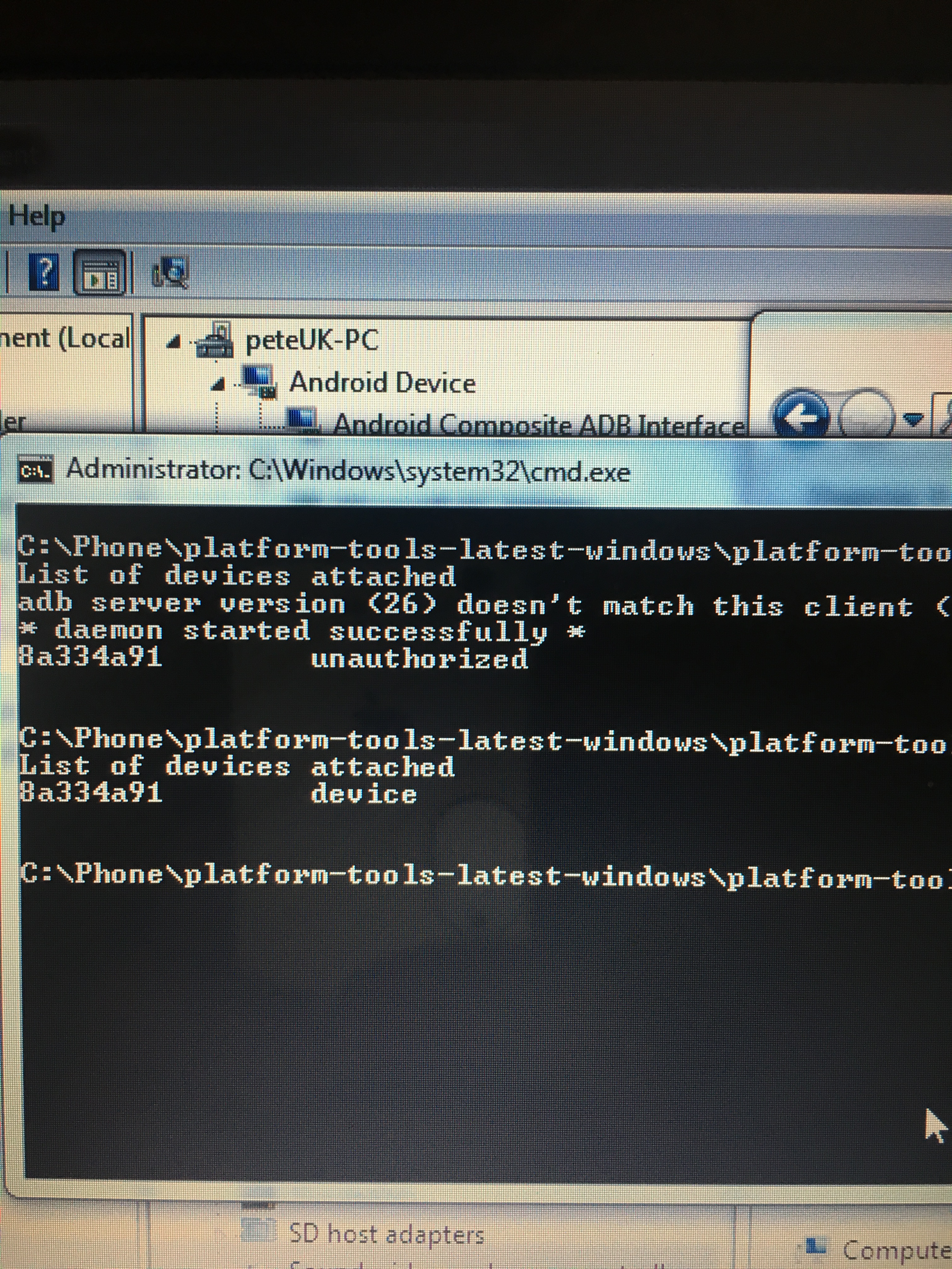 List Of Adb Devices Unauthorized