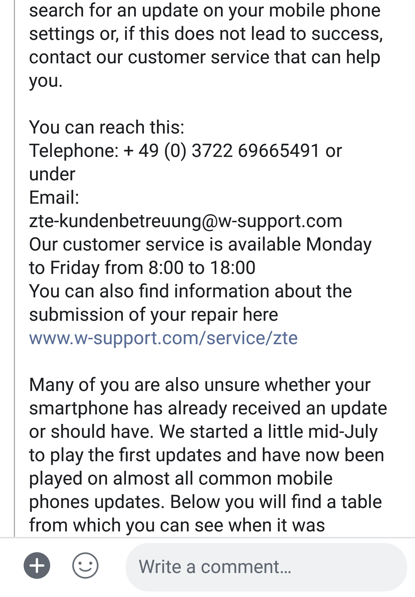Finally A Statement from ZTE   AXON 7 Users   Be Ready for