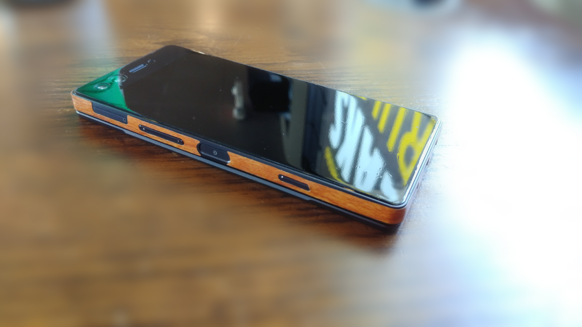 premium selection fbf10 baaa5 ZTE Axon M with Shinomi Textured Skin & Screen Protector — Z-Community