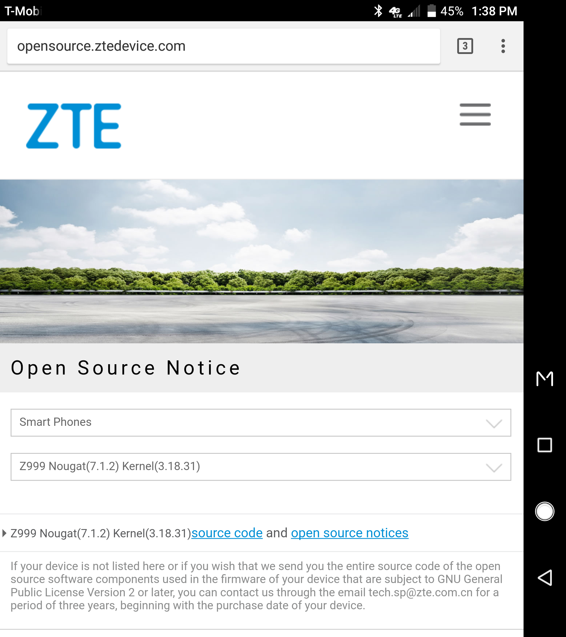 KERNEL SOURCE] ZTE Axon M (B22) base Source is available