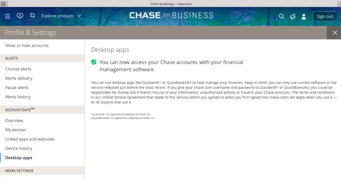 Update: Chase credit card connection — Expensify Community